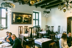 """Monte Pacis"" Restaurant hall"